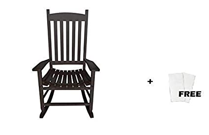 Astonishing Mainstay Outdoor Rocking Chair 1 Black Free Cleaning Wipes Creativecarmelina Interior Chair Design Creativecarmelinacom