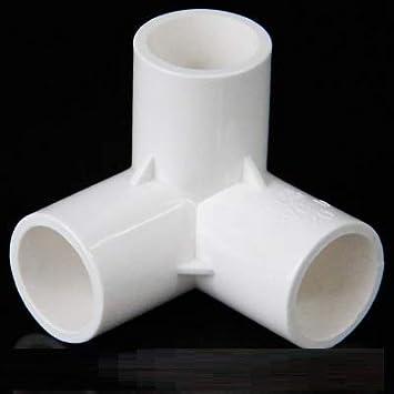 Laliva 4 Tipos de Conectores esterioscópicos de PVC de 20 mm ...