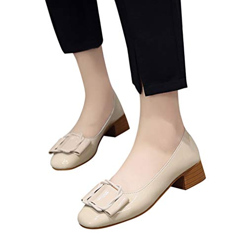 Seaintheson Women's Closed Toe Shoes