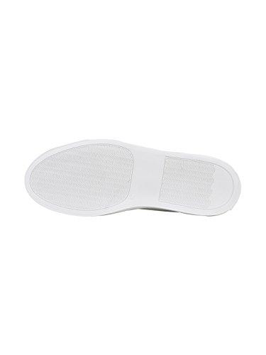 Progetti Comuni Uomini 2128506 Sneakers In Pelle Bianca