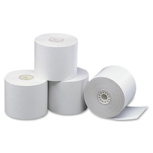 Wholesale CASE of 5 - PM Company Credit/Debit Register Rolls-Credit/Debit Card Machine Paper (Debit Card Machine Paper Roll)