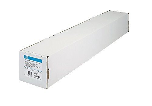 HPHP Inc. Film, 24''x75', 4 mil, Black and Color Line Drawings, Clear (HEWC3876A) by HP (Image #1)