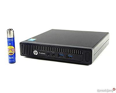 Fast Elite 600 G1 Micro Desktop Computer Ultra Small Tiny PC (Intel Core i3-4160T, 4GB Ram, 320GB HDD, WiFi, USB 3.0) Win 10 Pro with CD (Certified Refurbished)