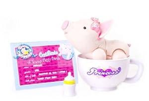 Amazon Com Teacup Piggies Toy Figure Princess Toys Amp Games