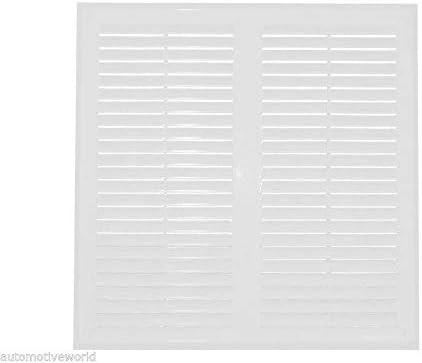 color blanco Rejilla de ventilaci/ón de pared de 350 mm x 350 mm