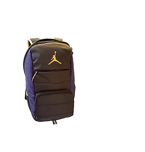 Jordan All World Backpack (One Size, Bright Concord (P19P) / Black)