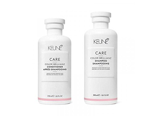 KEUNE Care Line Color Brilliance Shampoo 10.1 oz and Conditioner 8.5 ()
