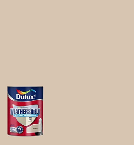 Amazoncom Dulux Weather Shield Textured Masonry Paint 5 L