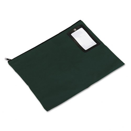 PM Company : Flat Dark Green Transit Sack, 18w x14h -:- Sold as 2 Packs of - 1 - / - Total of 2 Each by PM Company