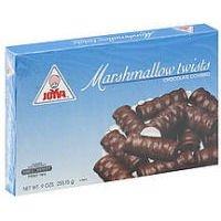 Joyva Marshmallow chocolate Covered Twists, 9 oz ()