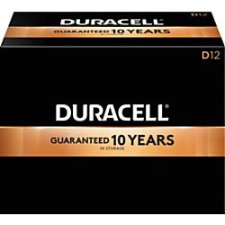 Duracell Coppertop D Alkaline Batteries, Box of 72 by Duracell (Image #1)