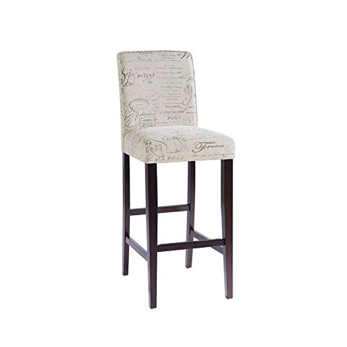 Home Fare Upholstered Square Back 30