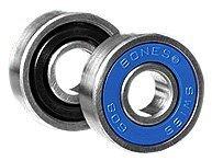 Powell Swiss (Bones Bearings Swiss 6-Ball Skate Bearings (8mm, 16-Pack))