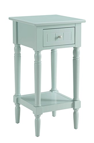 Convenience Concepts French Country Khloe Accent Table, Sea Foam Green