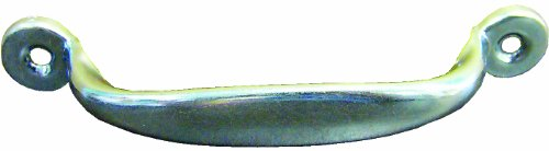 Zinc Handle Pull (Ideal Security Inc. SK923 Screen Door Pull Handle, Zinc Plated)