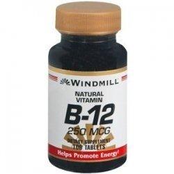 Vitamin B-12 TABS 100 Mcg WMILL Size: 100