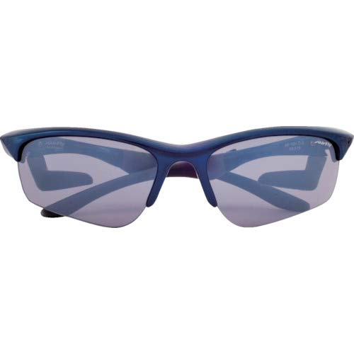 AirFly (Eafurai) nose pad-less sport sunglasses AirFly sharp lens navy blue / light gray AF-101 C2