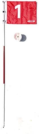 A99 Golf Practice Golf Hole Pole Cup Flag Stick Putting Green Flagstick Backyard Putting Chipping Pitching Aid