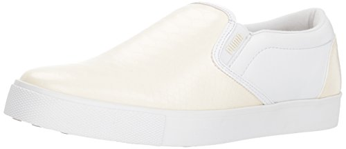 PUMA Golf Women's Tustin Slip-on Golf Shoe, Whisper White White, 7 M US