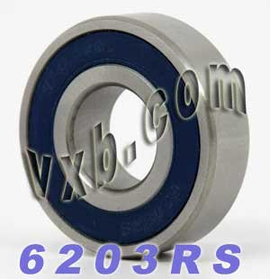 6203RS Bearing 17x40x12 Sealed Ball Bearings