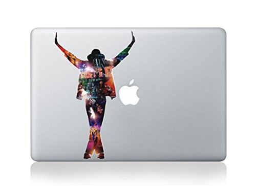 Michael Jackson Cartoon Character Decal Sticker for Macbook Laptop Air Pro Retina 13 15 17 Inch - Decal Jackson