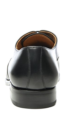 Shoepassion 548 Scarpe Da Lavoro Esclusive Per Uomo Daffari, Da Tempo Libero O Da Sposa. Saldato E Fatto A Mano Dalla Pelle Più Fine. Nero