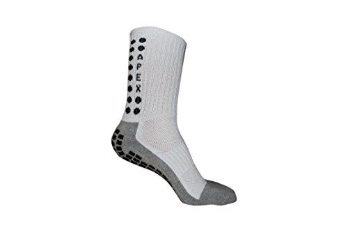 #1 Non Slip Sport Socks, THE BEST Traction Technology Inside and Outside of Socks, No More Blisters, Grip Socks