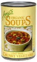 Amy's Organic Soup Chunky Vegetable Fat Free -- 14.3 oz