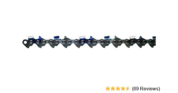 """501-3//8/"""" .050/"""" 70 DL 2-Pack 20/"""" Full Chisel Chainsaw Chain for Echo cs 510"""