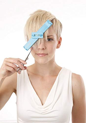 Original CreaClip Bangs and Scissors – As seen on Shark Tank – Professional Hair Cutting Tool by CreaProducts (Image #5)