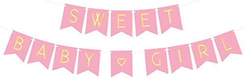 Baby Shower Decorations Girl Announcement product image