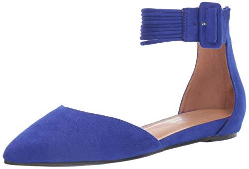 Aerosoles Women's Martha Stewart Town CAR Ballet Flat, Blue Fabric, 8 M US