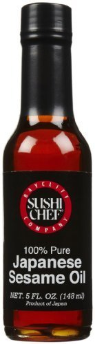 Sushi Chef Japanese Sesame Oil, 5 oz by Sushi Chef by Sushi Chef
