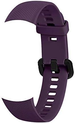 Docooler Honor Band 5 Replacement Silica Strap Smartwatch Gel Bracelet Wristband Accessories Watch Belt