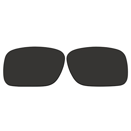 ACOMPATIBLE Replacement Lenses for Oakley SI Ballistic Det Cord Sunglasses OO9253 (Black - - Are Oakleys Ballistic All