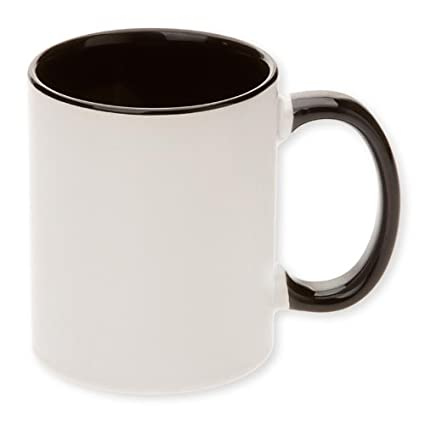 Premium Grade A 11oz  Black Sublimation Blank Mugs (Qty 36)