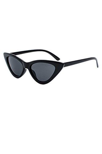 Sol De Gafas De Estrecho Retro 1 De Cateye Marco Gafas Las Las O8q4w