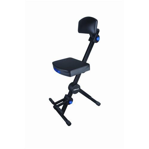 Quik Lok DX749 Deluxe Seat, Black