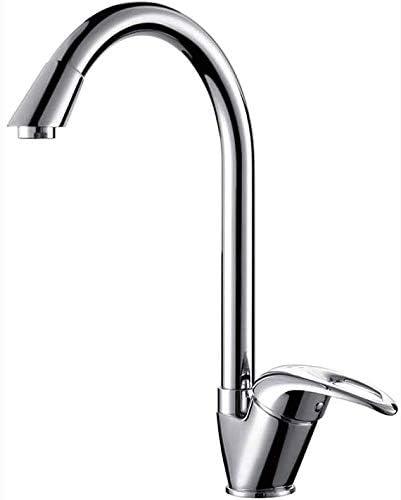 引き出し式キッチンのシンクの蛇口、浴室の洗面台の蛇口、ホットとコールドコントロール 銅材、キッチンバスルームトイレに適し