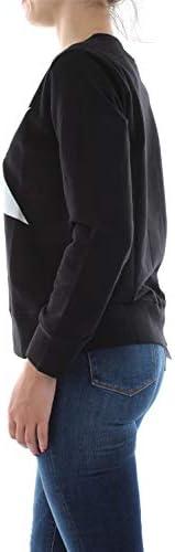 Converse 10017506 Crew Big Star Sweater Damen schwarz S