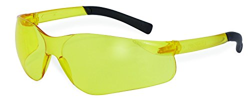 SSP Eyewear Safety Glasses with Amber Lenses/Frosted Yellow Temples, 12 Pack, TURBO AM DZ