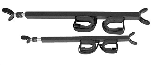 Great Day QD851-OGR Quick-Draw Overhead Gun Rack - UTV's with 28-35in rollbar depth, Black