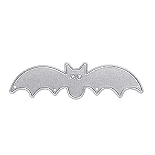 Ayangg Halloween Decoration Bat Metal Cutting Dies Stencil Festive Trick or Treat Party Party Supplies Halloween Haunted House Prop Decor