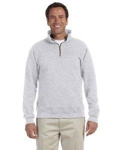JERZEES SUPER SWEATS - Crewneck Sweatshirt. 4662M - Medium - Ash ()