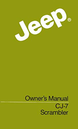 bishko automotive literature 1984 Jeep Cj & Scrambler Owners Manual User Guide Reference Operator Book Fuses - Jeep Cj Owners Manual