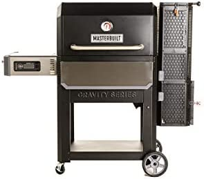 Masterbuilt MB20041220 Gravity Series 1050 Digital Charcoal Grill Smoker, Black