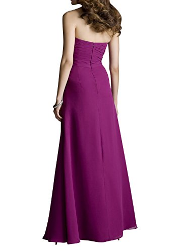 Kleider mia Elegant Neu Brautjungfernkleider Abendkleider Partykleider Festlichkleider Dunkel Lang Blau Jugendweihe Brau La Chiffon 1qxdv1P