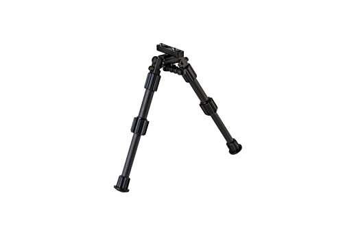 Caldwell Accumax M-Lok KeyMod 9-13 Inch Bipod with Twist Lock Quick-Deployment Legs for Mounting on Long Gun Rifle for Tactical Shooting Range and Sport by Caldwell (Image #2)