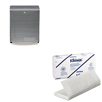 kitkim13254sjmt1900ss - Value Kit - Kimberly Clark KLEENEX Scottfold toallas de papel (kim13254) y San Jamar Multifold/C-fold toalla dispensador ...