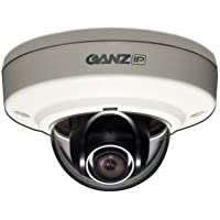 GANZ 1080p, Outdoor/Vandal, 4.3mm, H.264/MJPEG, POE only, Service monitor out / ZN-MD243M /